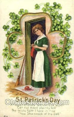 hol070092 - Series No.11 St. Patricks Day Postcard Postcards