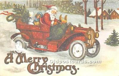 hol090005 - Christmas Holiday Postcard