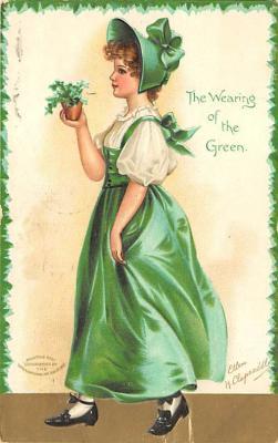 holA070399 - Artist Ellen Clapsaddle Saint Patrick's Day Postcard