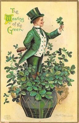 holA070444 - Artist Ellen Clapsaddle Saint Patrick's Day Post Card