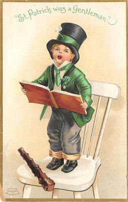 holA070455 - Artist Ellen Clapsaddle Saint Patrick's Day Post Card