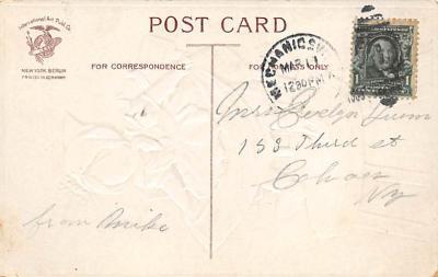 holA070439 - Artist Ellen Clapsaddle Saint Patrick's Day Post Card  back