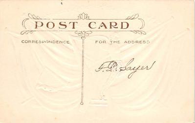 holA070493 - Flags, Erin Go Bragh Saint Patrick's Day Post Card  back