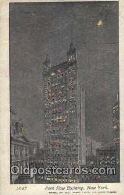 HTL Park Row Building, NY USA