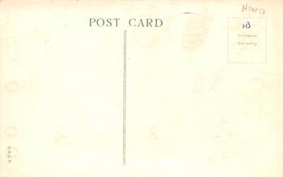 htl001003 - Green Robe, Hold To Light Santa Claus, Chirstmas, Postcard Postcards  back