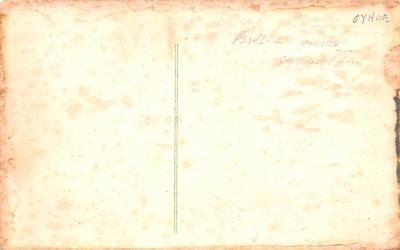 htl001185 - Santa Claus Hold To Light Post Card Old Vintage Antique  back