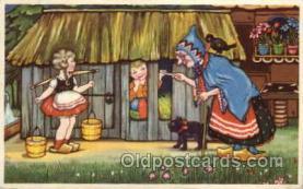 hag001015 - Hansel & Gretel Postcard Postcards