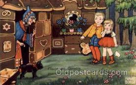 hag001017 - Hansel & Gretel Postcard Postcards