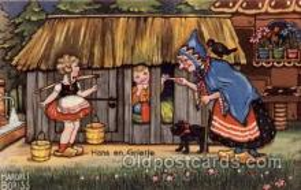 hag001018 - Hansel & Gretel Postcard Postcards