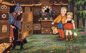 hag001019 - Hansel & Gretel Postcard Postcards