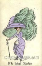 hat001133 - The Alpha - series 146 Hat Pins, Hats, Postcard Postcards