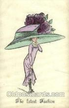 hat001134 - The Alpha - series 146 Hat Pins, Hats, Postcard Postcards