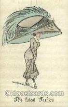 hat001136 - The Alpha - series 146 Hat Pins, Hats, Postcard Postcards