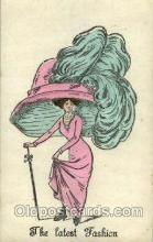 hat001137 - The Alpha - series 146 Hat Pins, Hats, Postcard Postcards