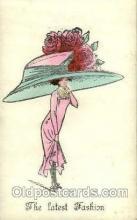 hat001138 - The Alpha - series 146 Hat Pins, Hats, Postcard Postcards