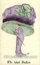 hat001139 - The Alpha - series 146 Hat Pins, Hats, Postcard Postcards