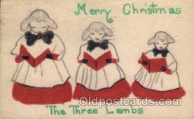hnd001011 - Hand Made postcard postcards