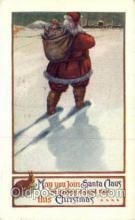 hol000203 - Santa Claus Christmas Postcard Post Cards