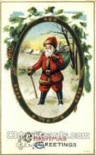 hol000205 - Santa Claus Christmas Postcard Post Cards