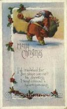 hol000215 - Santa Claus Christmas Postcard Post Cards