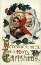 hol000218 - Santa Claus Christmas Postcard Post Cards