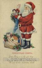 hol000222 - Santa Claus Christmas Postcard Post Cards