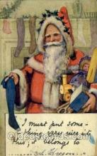 hol000223 - Santa Claus Christmas Postcard Post Cards