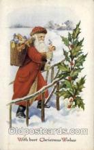 hol000225 - Santa Claus Christmas Postcard Post Cards