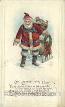 hol000229 - Santa Claus Christmas Postcard Post Cards