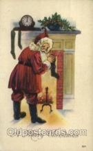 hol000231 - Santa Claus Christmas Postcard Post Cards