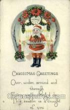 hol000249 - Santa Claus Christmas Postcard Post Cards