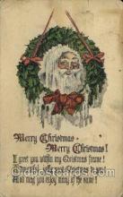 hol000250 - Santa Claus Christmas Postcard Post Cards
