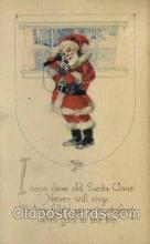 hol000253 - Santa Claus Christmas Postcard Post Cards