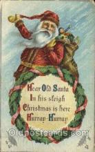 hol000254 - Santa Claus Christmas Postcard Post Cards
