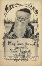 hol000262 - Santa Claus Christmas Postcards Post Card