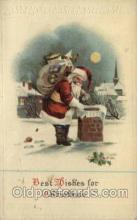 hol000265 - Santa Claus Christmas Postcards Post Card