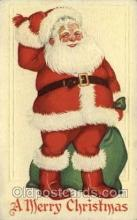 hol000267 - Santa Claus Christmas Postcards Post Card
