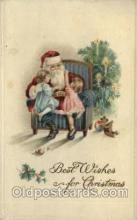 hol000269 - Santa Claus Christmas Postcards Post Card