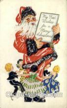 hol000270 - Santa Claus Christmas Postcards Post Card