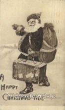 hol000271 - Santa Claus Christmas Postcards Post Card