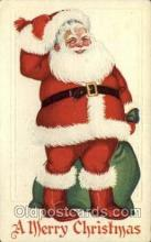 hol000276 - Santa Claus Christmas Postcards Post Card