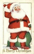 hol000277 - Santa Claus Christmas Postcards Post Card