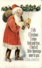 hol000279 - Santa Claus Christmas Postcards Post Card