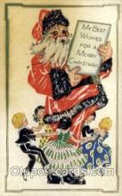 hol000280 - Santa Claus Christmas Postcards Post Card