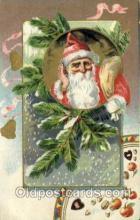 hol000282 - Very Early Tucks Publishing Santa Claus Christmas Postcards Post Card