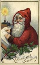 hol000285 - Santa Claus Christmas Postcards Post Card