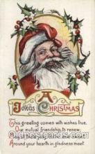 hol000290 - Santa Claus Christmas Postcards Post Card