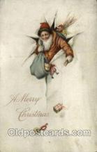 hol000296 - Santa Claus Christmas Postcards Post Card