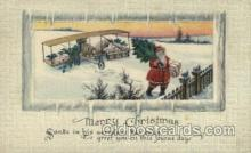 hol000303 - Santa Claus Postcard Post Cards