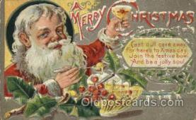 hol000305 - Santa Claus Postcard Post Cards